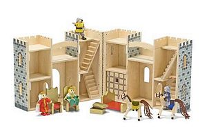 Melissa and Doug Fold & Go Castle