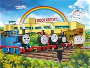 Thomas Calling All Engines- 24 Piece Floor Puzzle