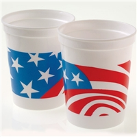 Patriotic Cups- 12 pack
