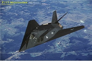 Ugly Box: F-117 Nighthawk  Poster