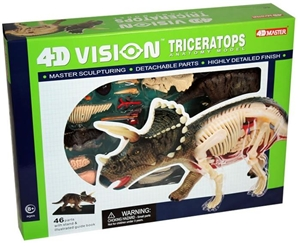 4D Vision Anatomy Model - Triceratops