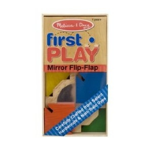 Color Flap Mirror Baby Toy