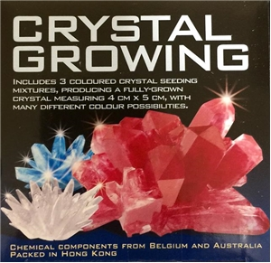 Crystal Growing Kit - Many Color Possibilities