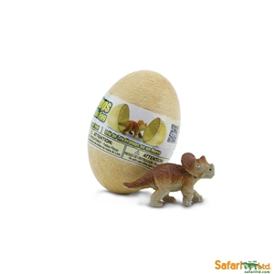 Triceratops Baby in an Egg Toy Model