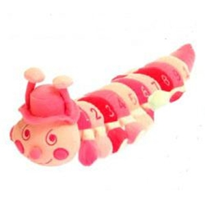 Babyboo Medium 123's Caterpillar - Pink