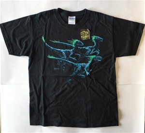 Dinosaur Shirt Deinomight-Glow in the Dark Youth M, dinosaur t-shirt, dinosaur shirt, dinosaur g
