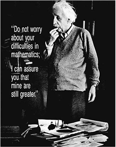 Einstein - Do Not Worry Poster