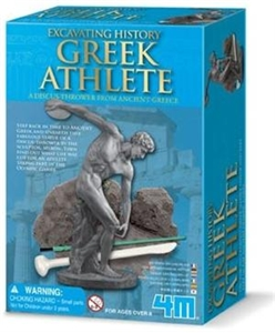 Greek Athlete Excavation Kit