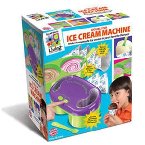 Double Dip Ice Cream Machine