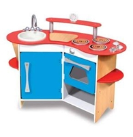 Melissa and Doug Cook's Corner Wooden Kitchen