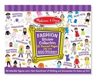 Melissa and Doug Fashion Sticker Collection
