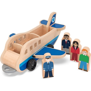 Whittle World Plane and Luggage Carrier Set