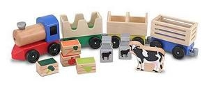 Melissa and Doug Wooden Farm Train