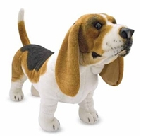 Melissa and Doug Plush Basset Hound
