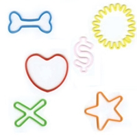 Memory Shape Rubber Bands Fun Shapes Assortment, Popular kids shapped rubber bands, Heart, Star