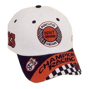 Jr. Champion Embroidered Racing Cap
