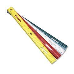 Plastic Ruler Multicolor