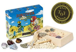 Rock and Crystal Excavation Kit - rocks for sale - buy rocks