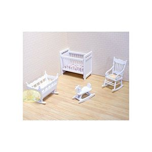 Melissa and Doug Doll House Nursery Furniture Set