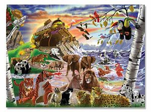 Melissa and Doug 500 Piece After the Flood Jigsaw Puzzle