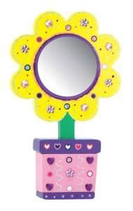 Melissa and Doug Decorate Your Own Flower Mirror