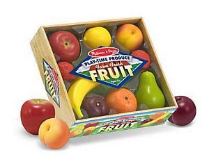 Melissa and Doug Playtime Fruit Play Food