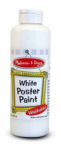 Melissa and Doug White Poster Paint