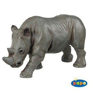 Papo Rhinoceros Toy Model
