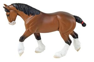 Safari Winner's Circle Clydesdale Horse Toy Model