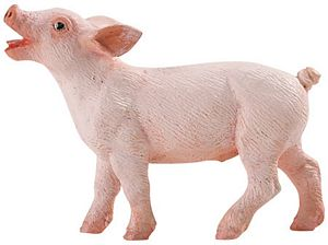 Safari Farm Piglet Toy, piglet toy, pig toy, pig model, little pig toy, small pig toy, kids wild saf