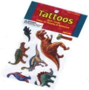 Dinosaur Tattoos for Kids