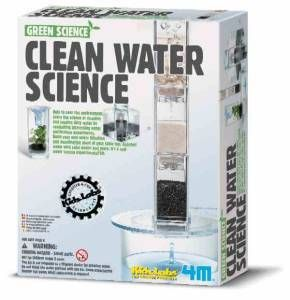 Clean Water Science Kit, science kits, green science kits, water kit, wind kit, solar kit, science k
