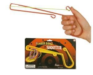 Rubber Band Shooter Classic Toy