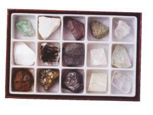 Mineral Science Kit, rock collection kit, kids rock kit, mineral collection