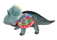 Small Squeezable Triceratops Dinosaur Toy
