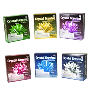 Crystal Growing Kit-Rose Pink, crystal growing kit, crystal grow, toysmith, science kits, kids cryst