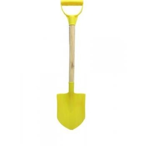 Wood Handle Plastic Sand Shovel, Kids plastic shovel