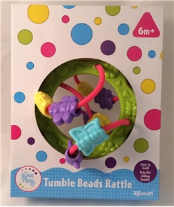 Ugly Box: Baby Tumble Beads Rattle by Wee Play