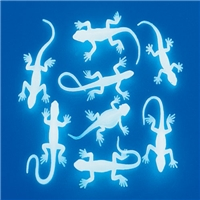 Mini Glow Lizard Toys Pack of 36