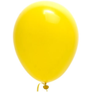Yellow Balloons - 12 pack