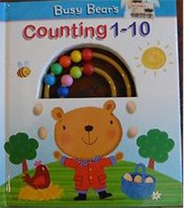 Busy Bears Counting 1-10 Book