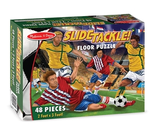 Melissa and Doug Slide Tackle! Floor Puzzle - 48 Pc