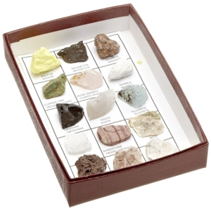 Rocks & Minerals of U.S. Intro Collection, kids rock kit, minerals and igneous, sedimentary