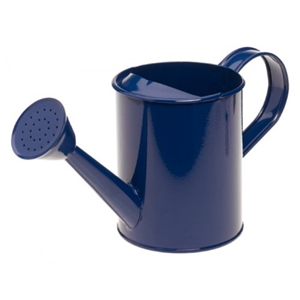 Kids Metal Watering Can - Blue