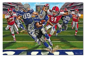Melissa and Doug Touchdown! Football Floor Puzzle