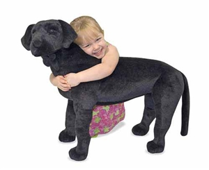 Melissa & Dough Large Stuffed Black Lab