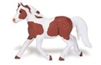 Safari Winner's Circle Chincoteague Pony Model Toy, horse toy, horse model, horse replica, pinto mu