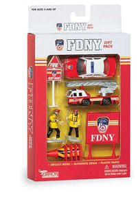 FDNY Fire Department Vehicles 10 Piece Gift Set