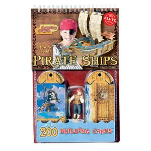 Klutz-How To Build Pirate Ships Book and Kit