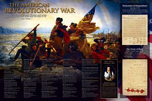 The American Revolution Poster-Laminated